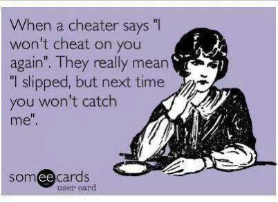 cheatersays
